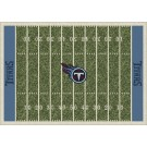 """Tennessee Titans 7' 8"""" x 10' 9"""" NFL Home Field Area Rug by"""