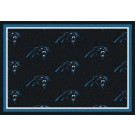 "Carolina Panthers 7' 8"" x 10' 9"" Team Repeat Area Rug (Blue) by"