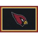 "Arizona Cardinals 7' 8"" x 10' 9"" Team Spirit Area Rug (Black) by"