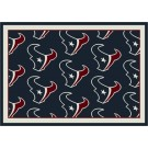 "Houston Texans 7' 8"" x 10' 9"" Team Repeat Area Rug (Navy Blue) by"