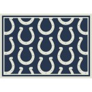 """Indianapolis Colts 7' 8"""" x 10' 9"""" Team Repeat Area Rug (Blue) by"""