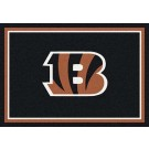 "Cincinnati Bengals 7' 8"" x 10' 9"" Team Spirit Area Rug (Brown) by"