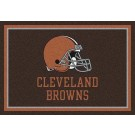 "Cleveland Browns 7' 8"" x 10' 9"" Team Spirit Area Rug (Brown) by"