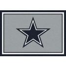 "Dallas Cowboys 5' 4"" x 7' 8"" Team Spirit Area Rug (Gray)"
