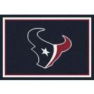 "Houston Texans 7' 8"" x 10' 9"" Team Spirit Area Rug (Navy Blue) by"