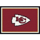 "Kansas City Chiefs 7' 8"" x 10' 9"" Team Spirit Area Rug (Red) by"