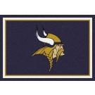 """Minnesota Vikings 7' 8"""" x 10' 9"""" Team Spirit Area Rug (Purple) by"""