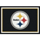 "Pittsburgh Steelers 3' 10"" x 5' 4"" Team Spirit Area Rug (Black)"