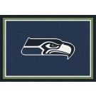 "Seattle Seahawks 7' 8"" x 10' 9"" Team Spirit Area Rug (Blue) by"