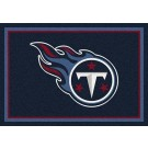 """Tennessee Titans 7' 8"""" x 10' 9"""" Team Spirit Area Rug (Navy Blue) by"""