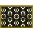 """Boston Bruins 7' 8"""" x 10' 9"""" Team Repeat Area Rug by"""