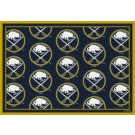 """Buffalo Sabres 7' 8"""" x 10' 9"""" Team Repeat Area Rug by"""