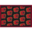 "Calgary Flames 7' 8"" x 10' 9"" Team Repeat Area Rug by"