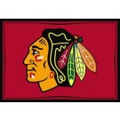 "Chicago Blackhawks 7' 8"" x 10' 9"" Team Spirit Area Rug by"