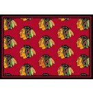 "Chicago Blackhawks 7' 8"" x 10' 9"" Team Repeat Area Rug by"