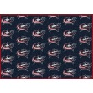 "Columbus Blue Jackets 7' 8"" x 10' 9"" Team Repeat Area Rug by"