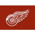 "Detroit Red Wings 7' 8"" x 10' 9"" Team Spirit Area Rug by"
