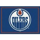 "Edmonton Oilers 7' 8"" x 10' 9"" Team Spirit Area Rug by"