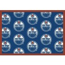 "Edmonton Oilers 5' 4"" x 7' 8"" Team Repeat Area Rug"