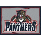 "Florida Panthers 2' 8"" x 3' 10"" Team Spirit Area Rug"