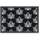 "Los Angeles Kings 7' 8"" x 10' 9"" Team Repeat Area Rug by"