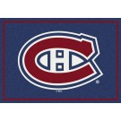 "Montreal Canadiens 5' 4"" x 7' 8"" Team Spirit Area Rug"
