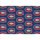 """Montreal Canadiens 7' 8"""" x 10' 9"""" Team Repeat Area Rug by"""