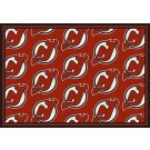 "New Jersey Devils 7' 8"" x 10' 9"" Team Repeat Area Rug by"