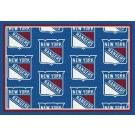 """New York Rangers 7' 8"""" x 10' 9"""" Team Repeat Area Rug by"""