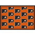 "Philadelphia Flyers 7' 8"" x 10' 9"" Team Repeat Area Rug by"