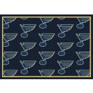 """St. Louis Blues 7' 8"""" x 10' 9"""" Team Repeat Area Rug by"""