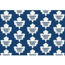 """Toronto Maple Leafs 7' 8"""" x 10' 9"""" Team Repeat Area Rug by"""