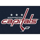 "Washington Capitals 7' 8"" x 10' 9"" Team Spirit Area Rug by"