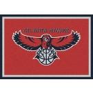 """Atlanta Hawks 2' 8"""" x 3' 10"""" Team Spirit Area Rug"""