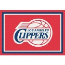 """Los Angeles Clippers 2' 8"""" x 3' 10"""" Team Spirit Area Rug"""