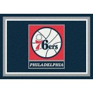 "Philadelphia 76ers 2' 8"" x 3' 10"" Team Spirit Area Rug"