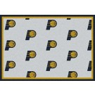 """Indiana Pacers 2' 1"""" x 7' 8"""" Team Repeat Area Rug Runner"""
