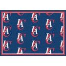 """Los Angeles Clippers 2' 1"""" x 7' 8"""" Team Repeat Area Rug Runner"""