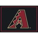 "Arizona Diamondbacks 7' 8"" x 10' 9"" Team Spirit Area Rug by"