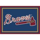 "Atlanta Braves 7' 8"" x 10' 9"" Team Spirit Area Rug by"