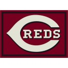 "Cincinnati Reds 7' 8"" x 10' 9"" Team Spirit Area Rug by"