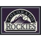 """Colorado Rockies 7' 8"""" x 10' 9"""" Team Spirit Area Rug by"""
