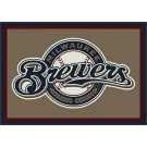 "Milwaukee Brewers 7' 8"" x 10' 9"" Team Spirit Area Rug by"