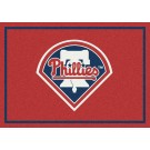 "Philadelphia Phillies 7' 8"" x 10' 9"" Team Spirit Area Rug by"