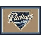 "San Diego Padres 2'8"" x 3'10"" Team Spirit Area Rug by"