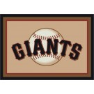 "San Francisco Giants 2'8"" x 3'10"" Team Spirit Area Rug"