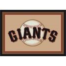"San Francisco Giants 7' 8"" x 10' 9"" Team Spirit Area Rug by"