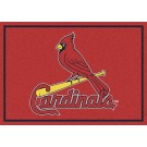 "St. Louis Cardinals 7' 8"" x 10' 9"" Team Spirit Area Rug by"