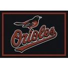 "Baltimore Orioles 7' 8"" x 10' 9"" Team Spirit Area Rug by"