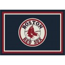 "Boston Red Sox 7' 8"" x 10' 9"" Team Spirit Area Rug by"